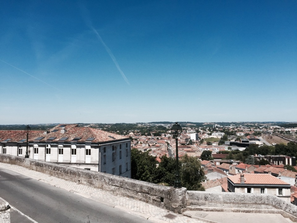 Angouleme - view from the ramparts