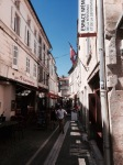 Narrow streets of Angouleme