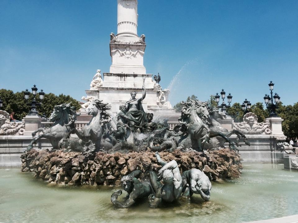 Fountains at Esplanade Des Quinconces