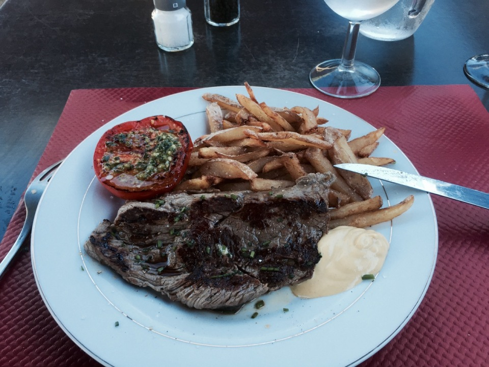 Steak frites - ca marche bien