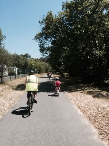 Schools out for summer - on bikes