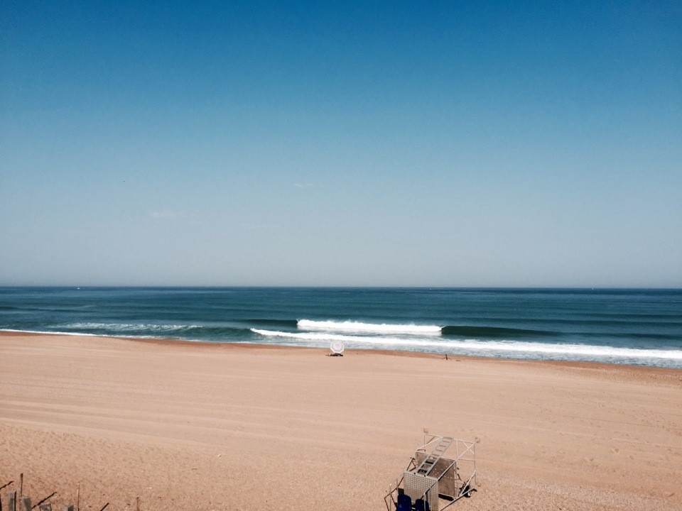 Ondres beach - morning surf