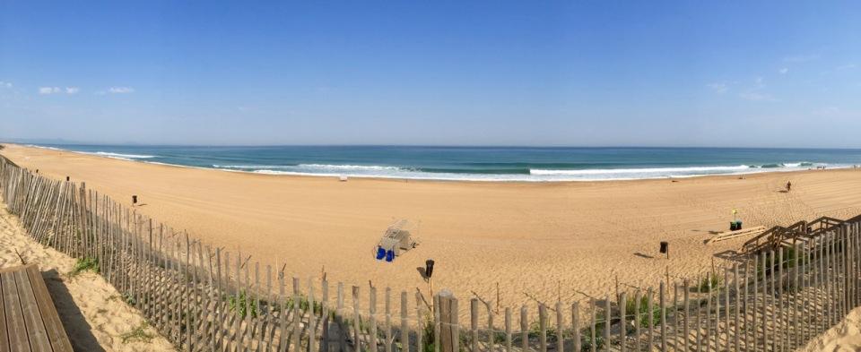 Ondres beach - panorama