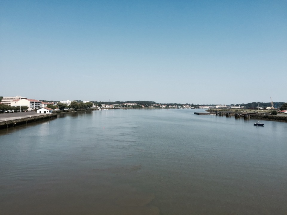 Over the river into Bayonne