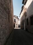 Bayonne - narrow street in old town