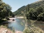 Bidarray - first dip in the Nive