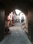 St-Jean-Pied-de-Port - archway to church