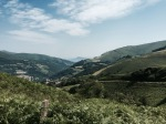 Climbing the Pyrenees on a bike - great views