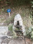 Water fountain on the Camino de Santiago trail