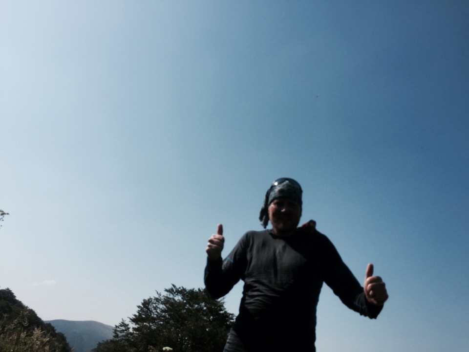 Double thumbs up for making it to the top