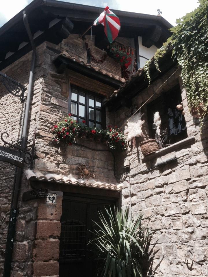 Hidden houses in Pamplona