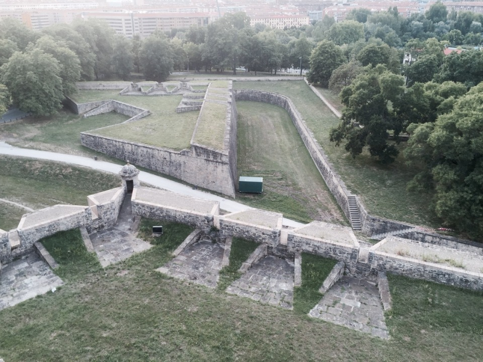 Battlements Pamplona