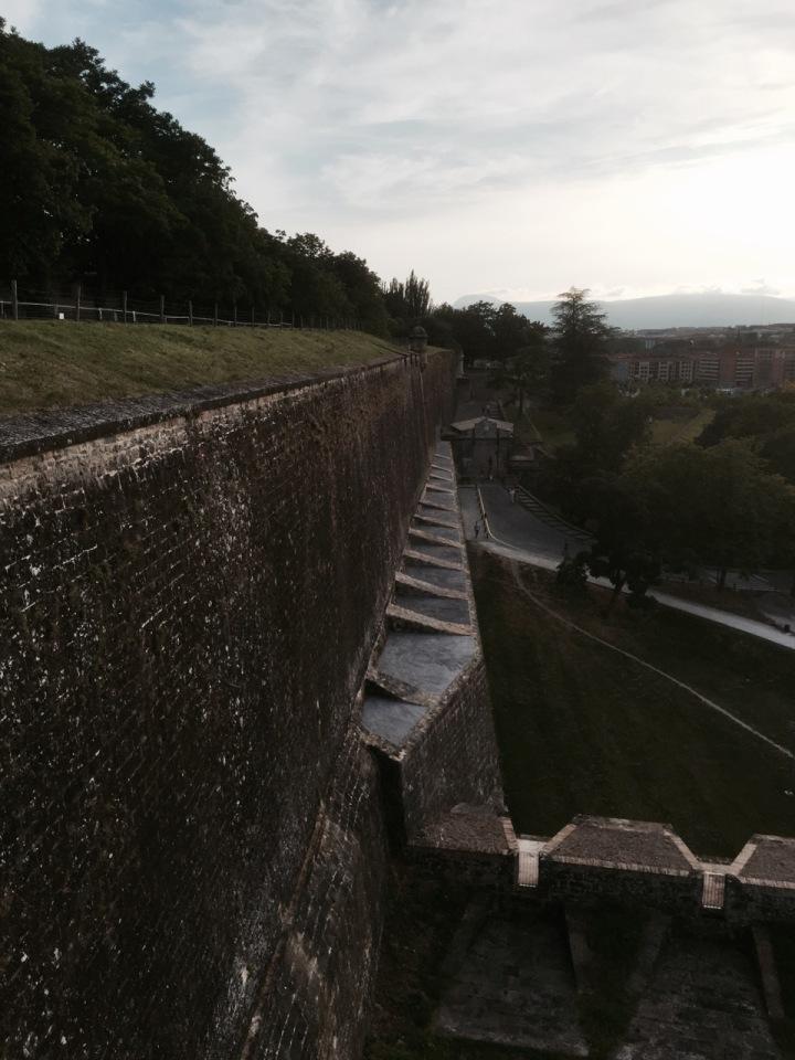 Battlements Pamplona 2