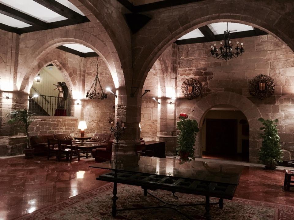 Inside the Parador