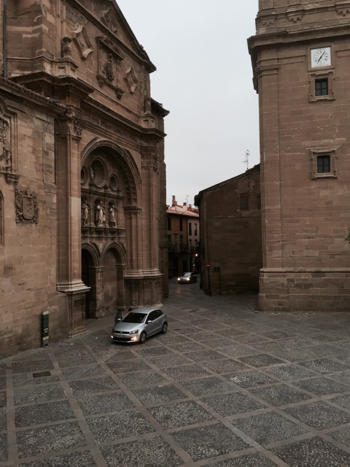 View from my room in Parador