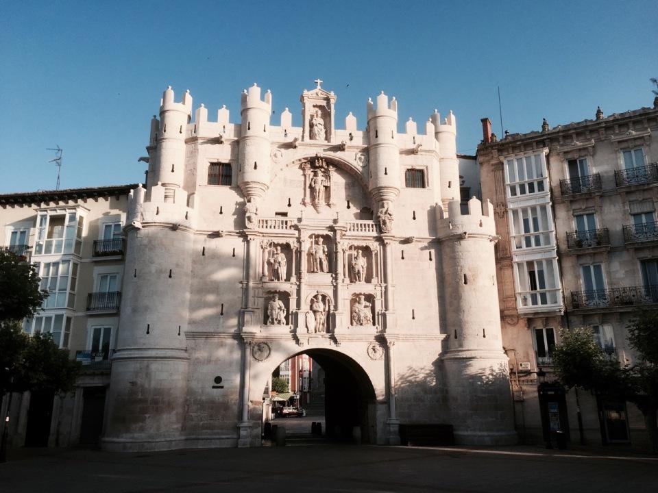 Gateway through to Burgos cathedral