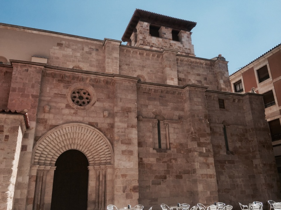 Romanesque church in Zamora