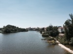 Crossing the Rio Duero in Zamora - the first time