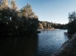 Walk back along river in Zamora