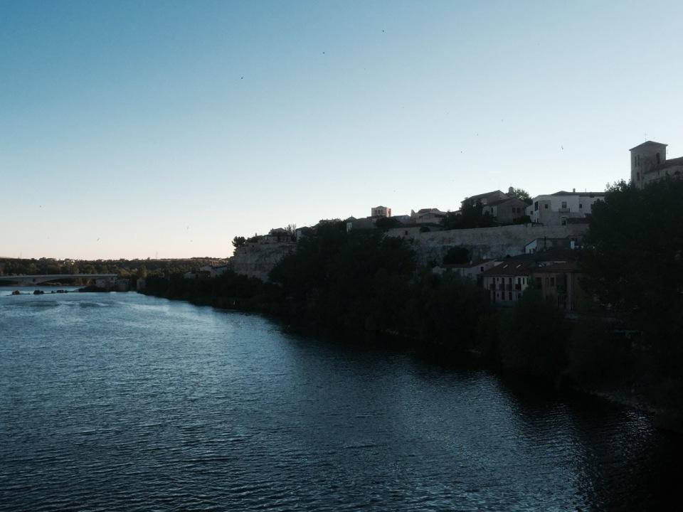 Zamora as dusk falls