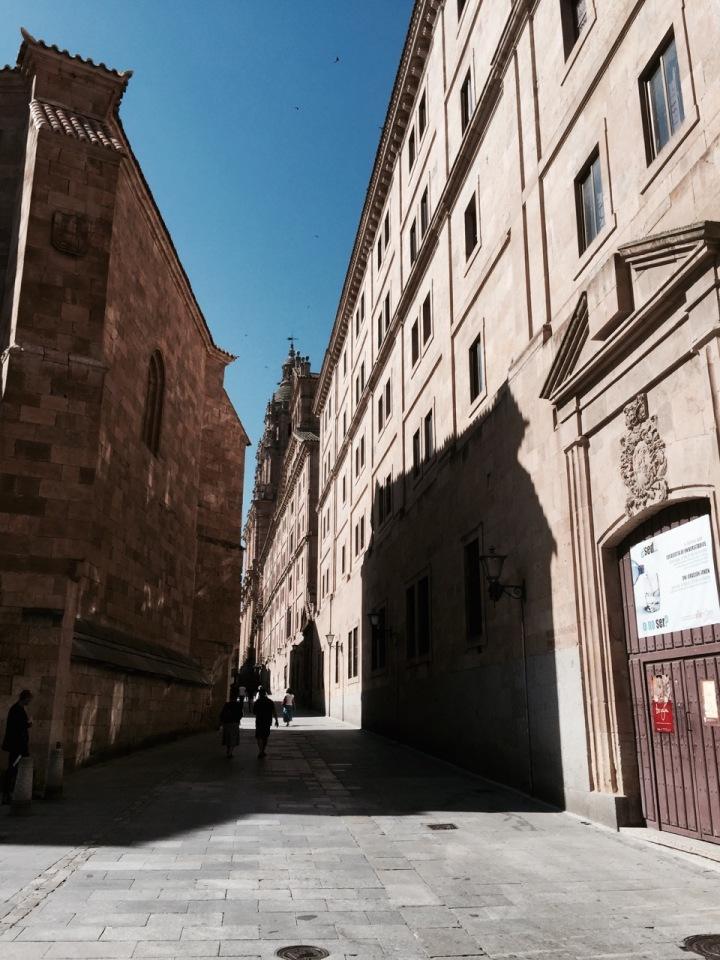 Salamanca Old Town - streets near University
