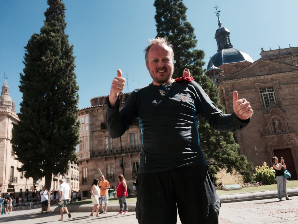 Double thumbs up for making it to Salamanca