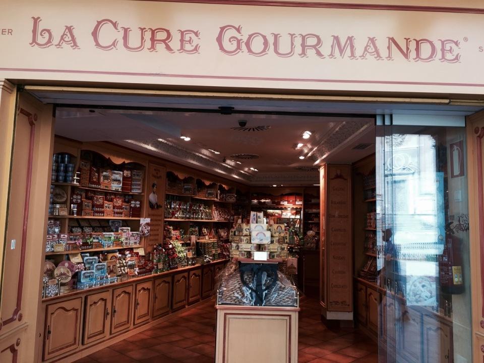 Tempting sweet shop, Salamanca