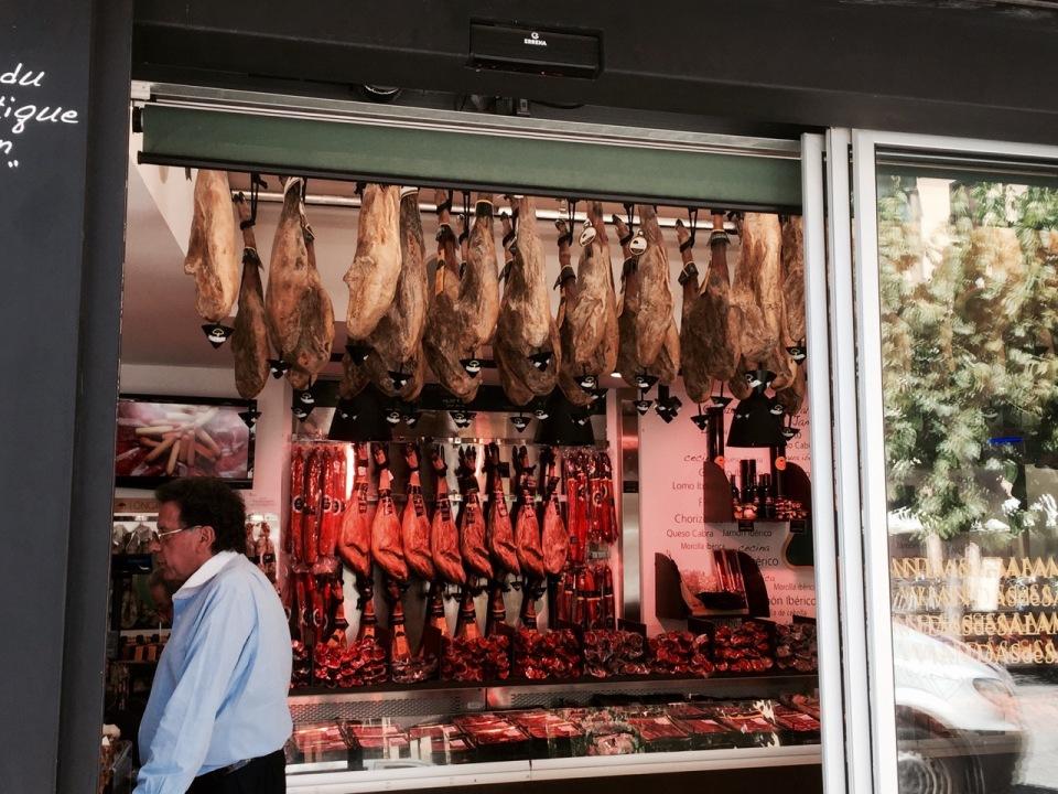 Shop selling bits of pig 2