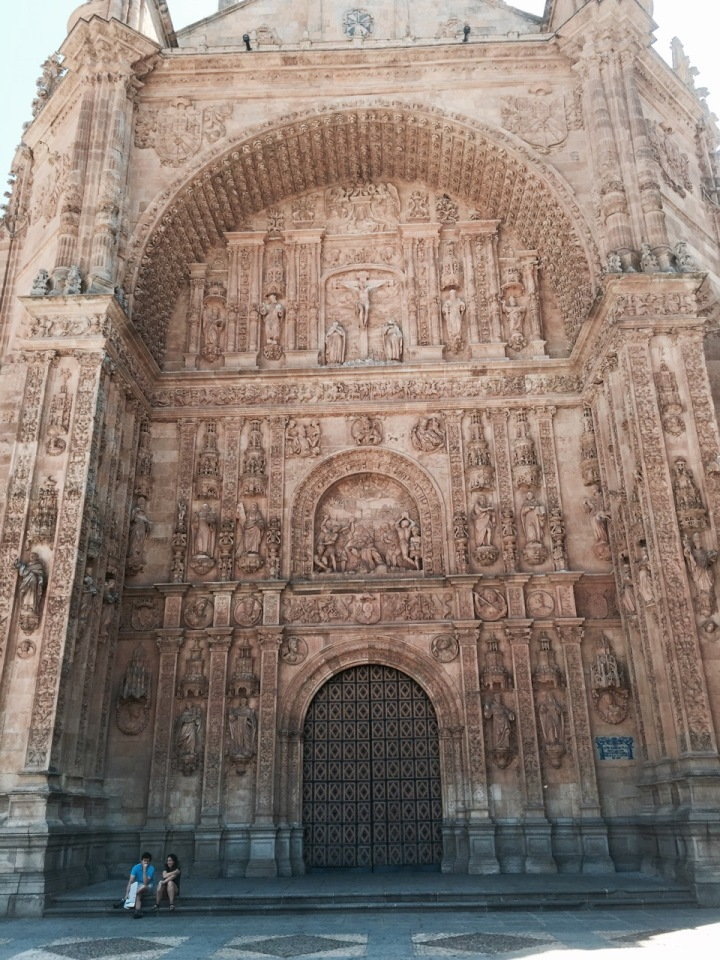 Another old building with amazing carvings - not sure which one this was
