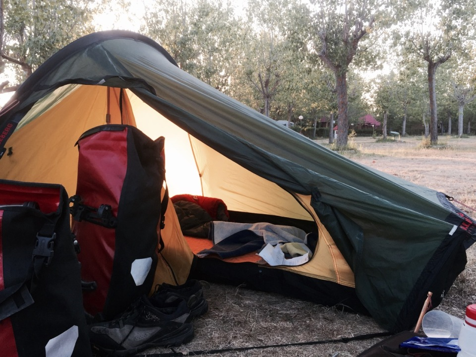 Home sweet home; I love my tent