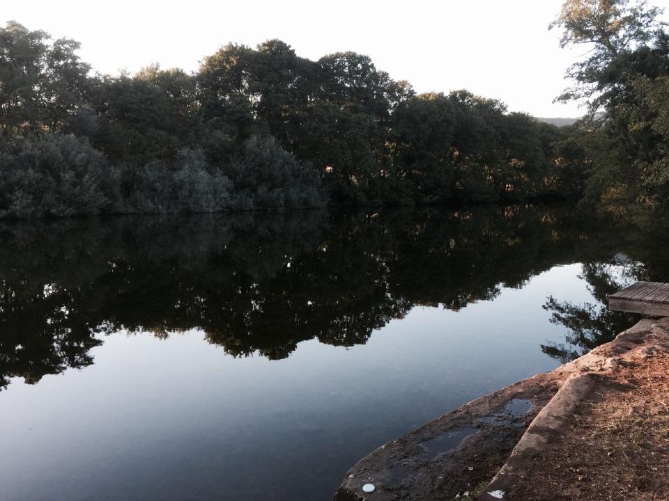 La Chopera - walk by the river 2