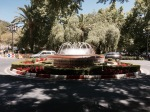 Fountain in Caceres