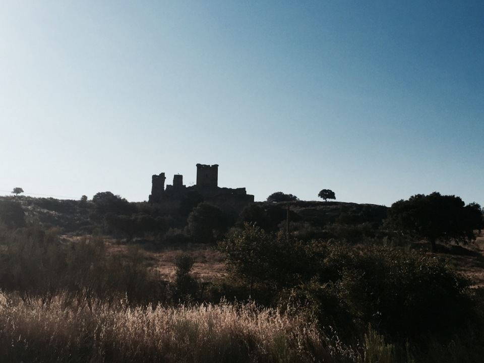 A different castle; this one in ruins