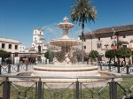 Plaza fountain, Merida