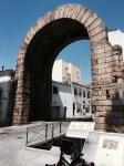 Roman triumphal Trajan arch