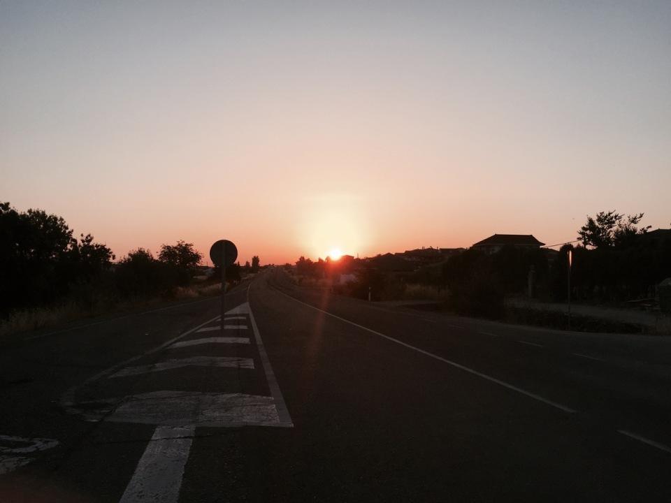 Sun rise in Merida