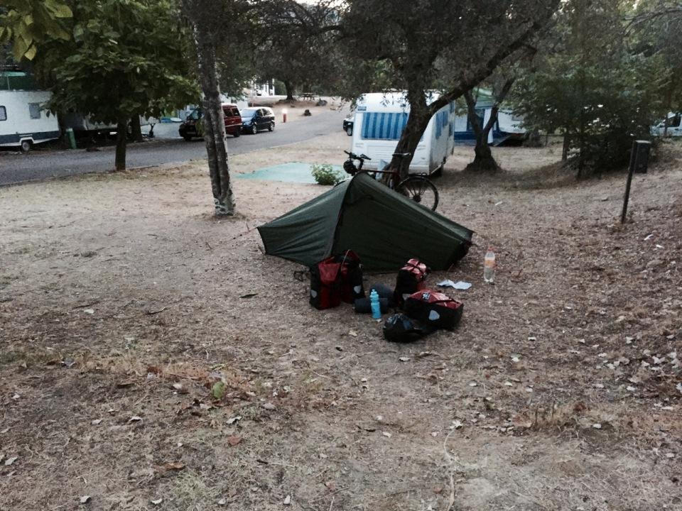 Morning at Tentudia camping in Monesterio