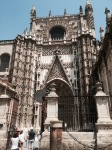 Cathedral carvings, Seville