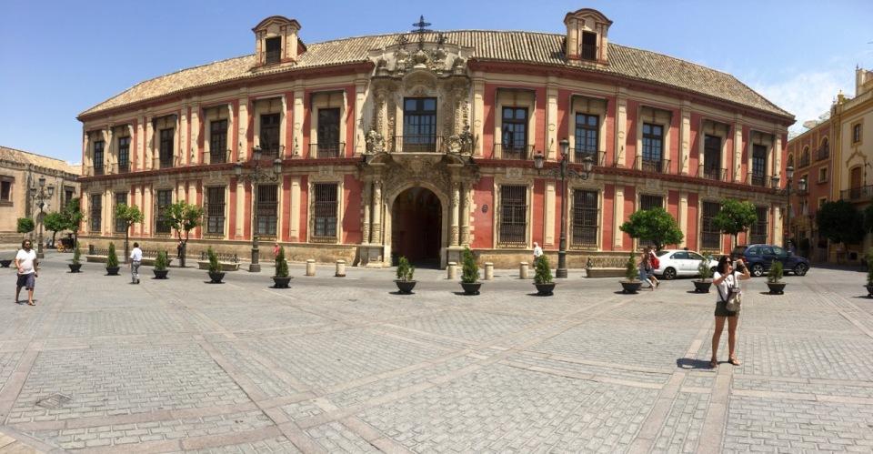 Giralda (La), Seville panorama