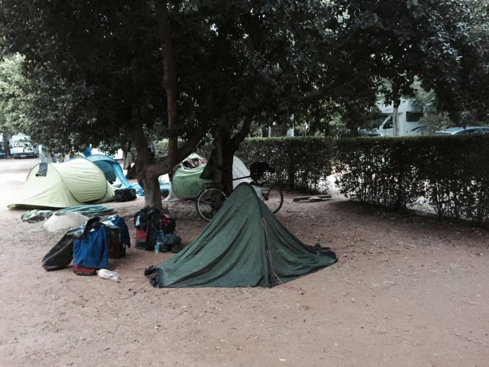 Morning at Villsom Camping