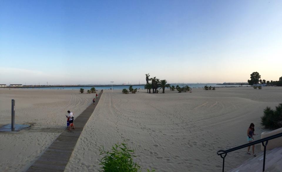 Beach in El Puerto de Santa Maria