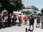 Buskers and dancing in Conil de la Frontera