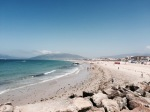 Tarifa beach and the Atlantic