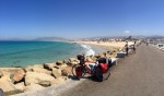 Tarifa beach panorama