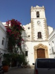 Church with more blooms, Tarifa