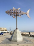 Wind vane; has signs for all the different wind types; Mistral, Sirocco, Levante etc