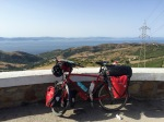 Made it the viewpoint at the top of the climb out of Tarifa