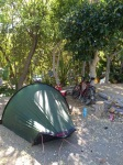 Camping Parque Tropical - one day I'll get to a campsite with grass again