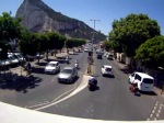 Spotted on a webcam as I pedal into Gibraltar