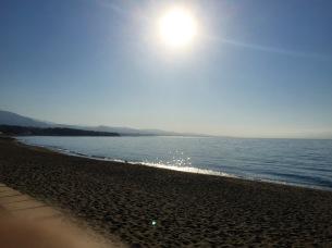 Approaching Marbella